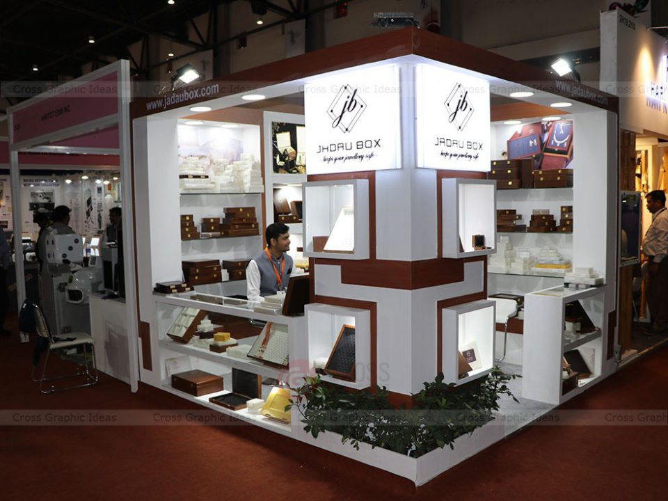 creative ideas for exhibition stalls